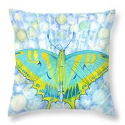 Unity Butterfly Throw Pillow