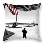 Universal Soldier Throw Pillow