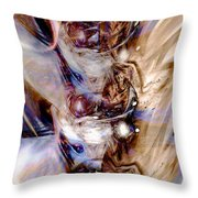 Universal Wings Throw Pillow by Linda Sannuti
