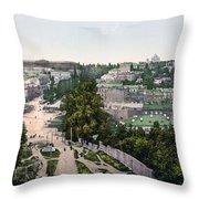 University Of Kiev - Ukraine - Ca 1900 Throw Pillow