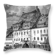 University Of Leipzig Throw Pillow