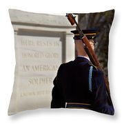 Unknown Soldier Throw Pillow