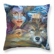 Unleash Your Potential Throw Pillow