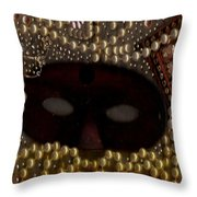 Unmask You Masquerades Dont Last Forever Throw Pillow