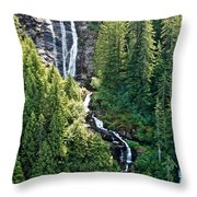 Unnamed Waterfall Throw Pillow