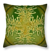 Unraveled Throw Pillow