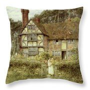 Unstead Farm Godalming Throw Pillow