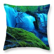 Unstoppable Flow Throw Pillow