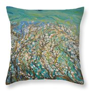 Untangling  Throw Pillow