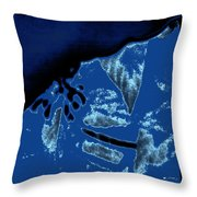 Untitled 4b4 Throw Pillow