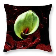 Untitled Cally Lily Throw Pillow