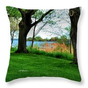 Untitled No Need Throw Pillow