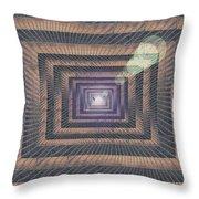 Unto Infinity Throw Pillow