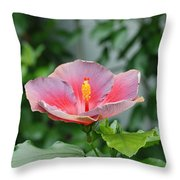 Unusual Flower Throw Pillow