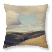 Up Above The Darkness Throw Pillow