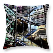 Up And Down Reflections 2 Throw Pillow