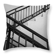 Up And Down Throw Pillow