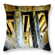 Up From Under Throw Pillow