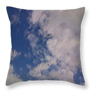 Up In The Clouds 3 Throw Pillow