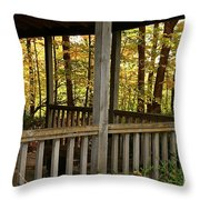 Up North Porch Throw Pillow