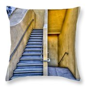 Up Stairs Down Stairs Throw Pillow
