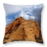 Up To The Clouds Throw Pillow