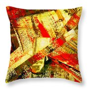 Upheaval I Throw Pillow