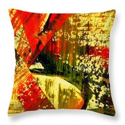 Upheaval V Throw Pillow