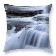 Upper Falls Detail Throw Pillow