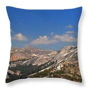 Upper Yosemite Panorama Throw Pillow