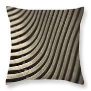 Upward Curve. Throw Pillow