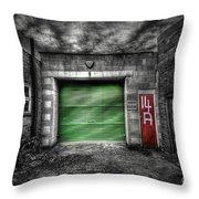 Urban Box 2.0 Throw Pillow