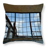 Urban Decay - The Sky Is The Roof Throw Pillow