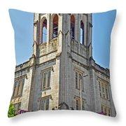Urban Grace Church Throw Pillow