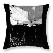 Strange Throw Pillow