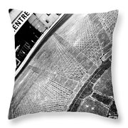 Urban Pattern Throw Pillow