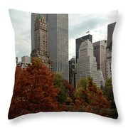 Urban Sprouting From Rural Throw Pillow