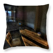 Urbex Morning Wake Up Throw Pillow