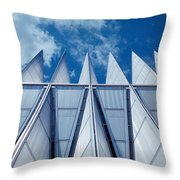 Us Air Force Academy Chapel Throw Pillow