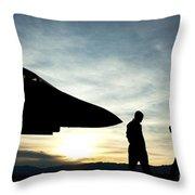 U.s. Air Force Airmen Prepare Throw Pillow
