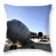 U.s. Air Force C-17 Globemaster IIi Throw Pillow