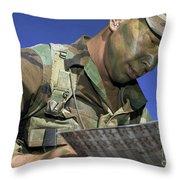 U.s. Air Force Lieutenant Reviews Throw Pillow