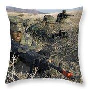 U.s. Air Force Pre-ranger School Throw Pillow
