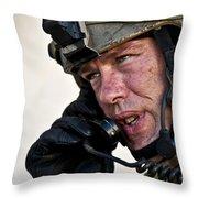 U.s. Air Force Sergeant Calls Throw Pillow