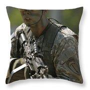 U.s. Army Ranger Throw Pillow