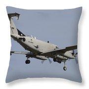 U.s. Army Rc-12x Guardrail Sigint Throw Pillow