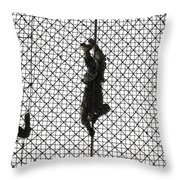 U.s. Army Recruits Completing An Throw Pillow