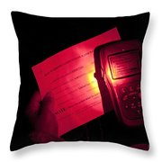 U.s. Army Sergeant Checks Her Global Throw Pillow