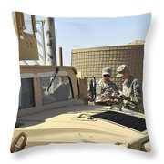 U.s. Army Soldiers Take Accountability Throw Pillow