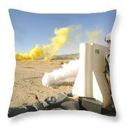 U.s. Army Specialist Calls In For An Throw Pillow